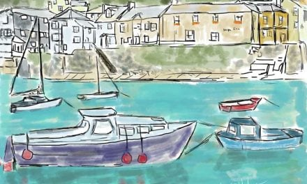 Picturesque Mousehole Harbor a favorite of artists