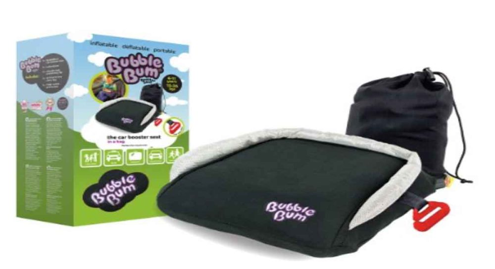 Traveling kids bubble bum seat.