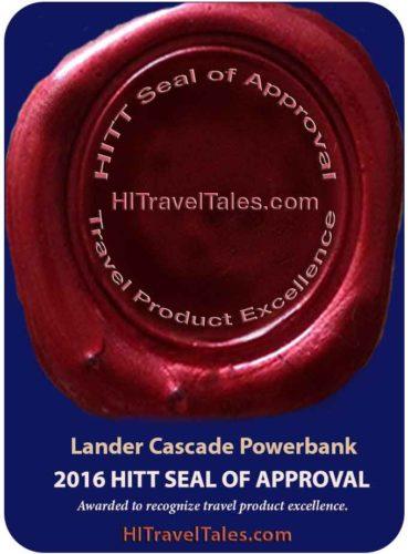Lander Cascade Powerbank HITT Seal of Approval