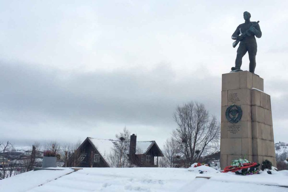 Our Kirkenes travel tips advise visiting the Russian Memorial.