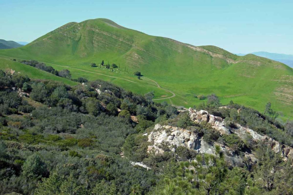 Rose Hill Cemetery sits hidden in Black Diamond Mines Regional Preserve.