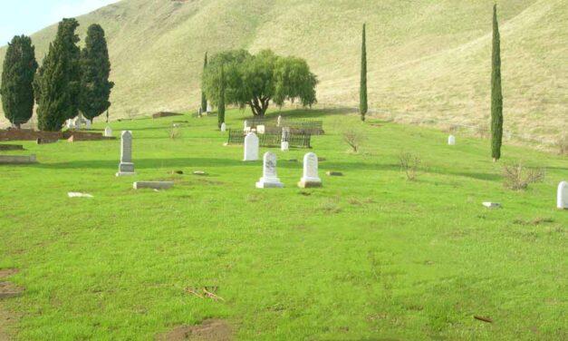 Rose Hill Cemetery at Black Diamond Mines Regional Preserve