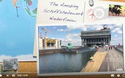 The Schiffshebewerk Niederfinow near Berlin, Germany, is an engineering marvel