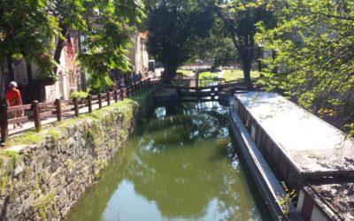 C&O Canal trail in Washington DC, a recreational wonder