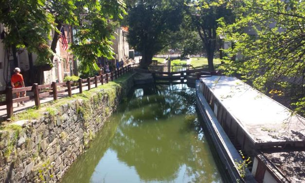 C&O Canal trail in Washington, D.C., a recreational wonder