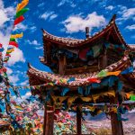 Pray for peace: Riot of colorful prayer flags in Shangri-la