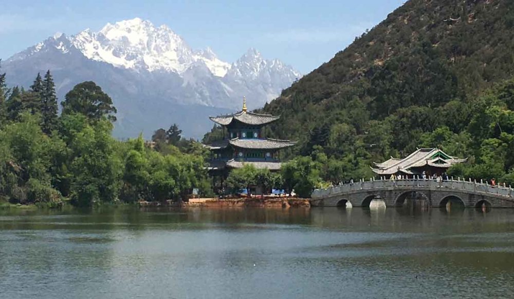 The classic view for those wondering what to do in Lijiang.