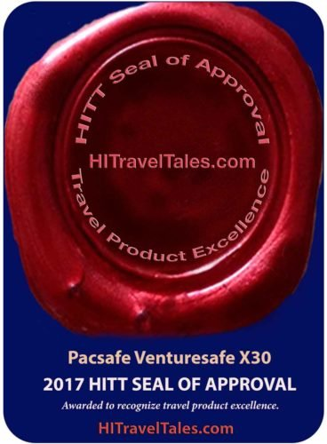 Pacsafe Venturesafe X30 adventure backpack HITT Seal of Approval