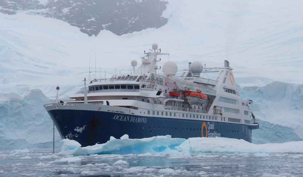 Quark Expeditions vessel the Ocean Diamond.