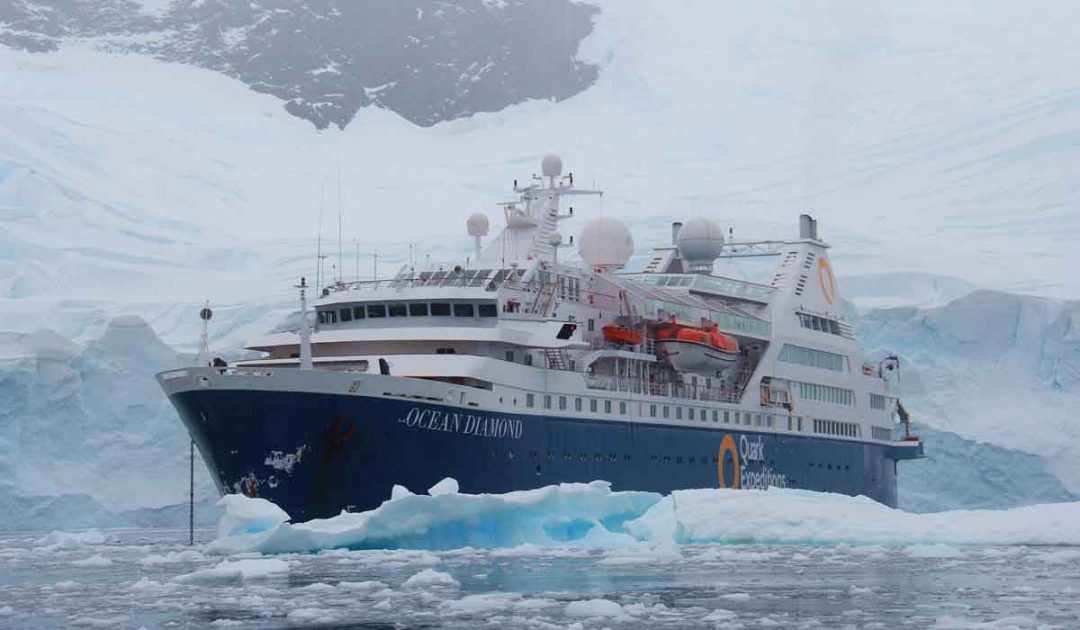 Quark Expeditions vessel the Ocean Diamond.