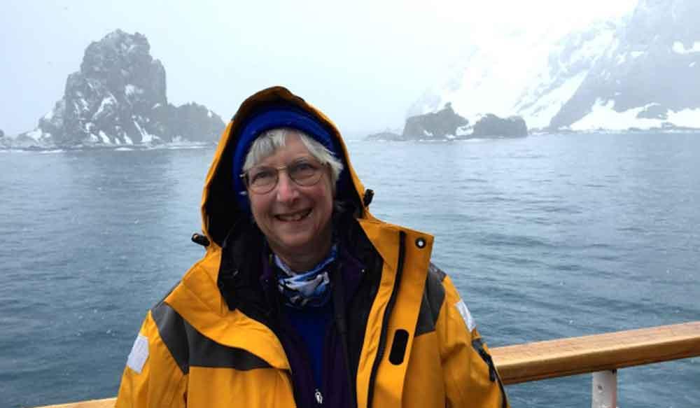 Ellen Schwab on her travel to Antarctica adventure.