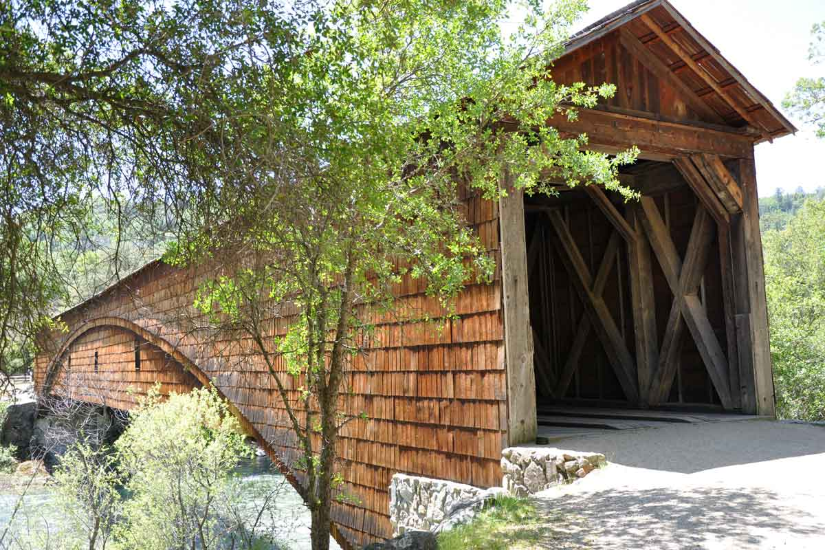 Bridgeport Covered Bridge at South Yuba State Park