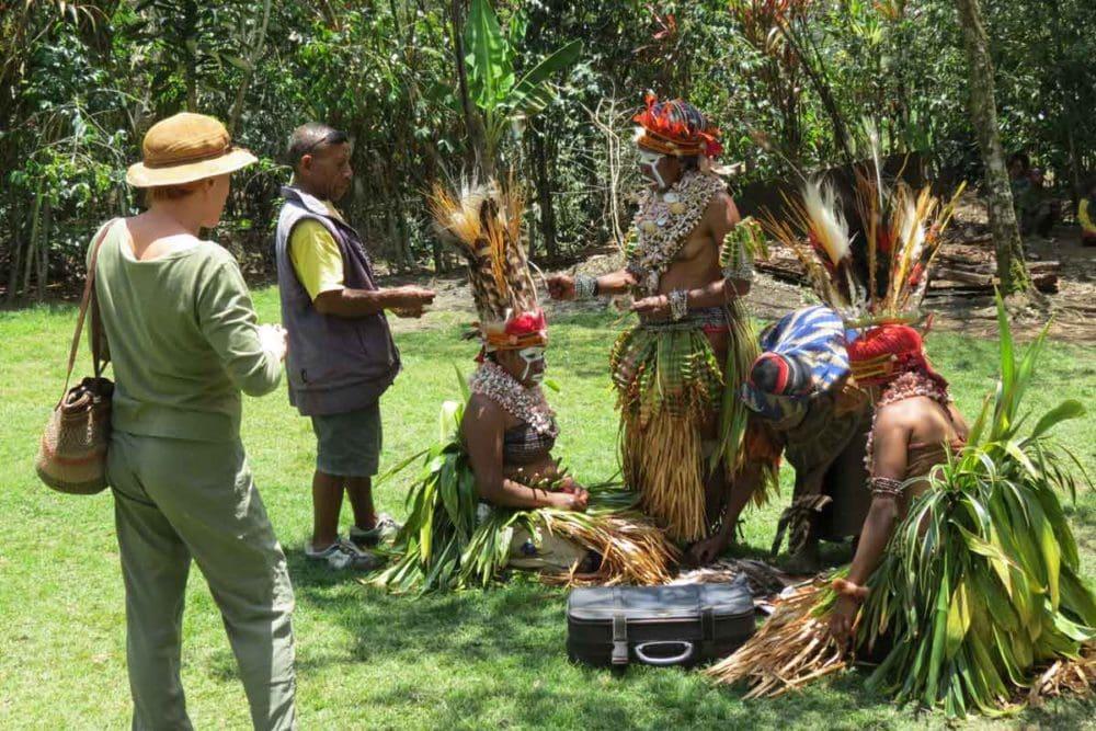 Mt. Hagen sing sing in Papua New Guinea.