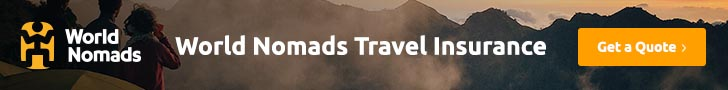 World Nomads Travel Insurance Advertising Banner