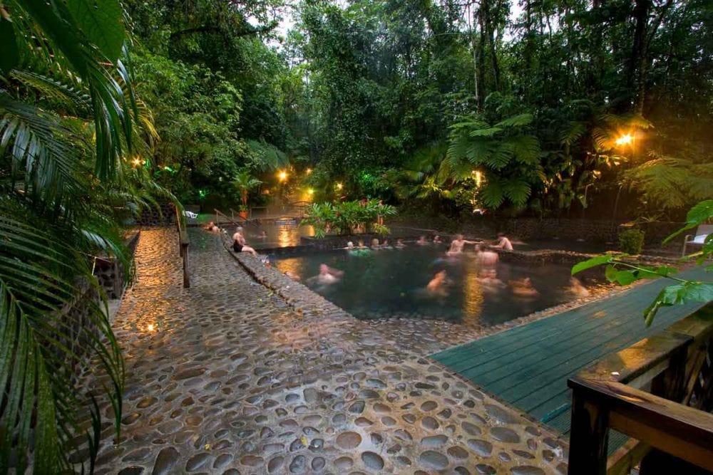 Hot springs at Eco Termales.