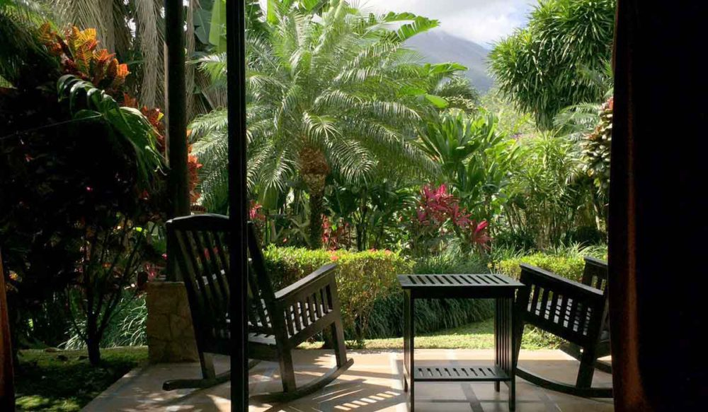 Costa Rica Hotel Arenal is a perfect base for someone traveling with MS.
