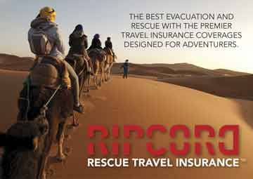Ripcord Rescue Travel Insurance Advertisement
