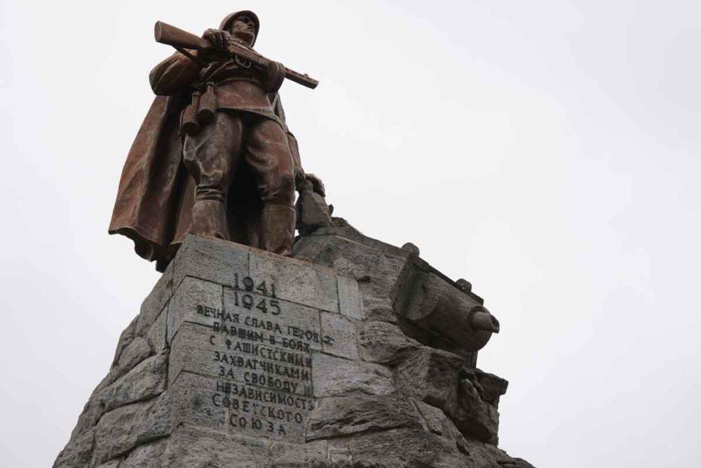 Russian memorial at Museum Seelower Höhen.