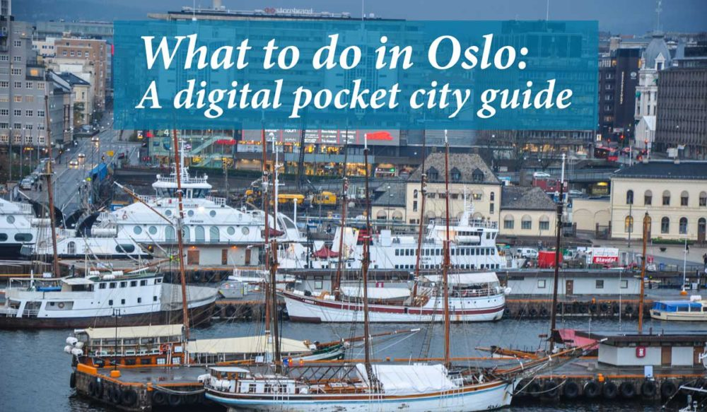 What to do in Oslo cover image.