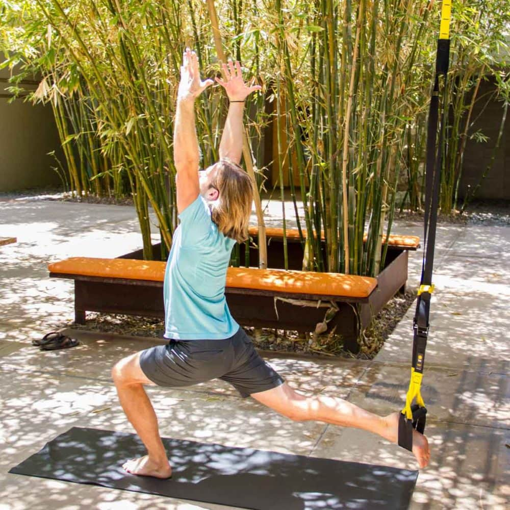 Hotel fitness centers get creative with yoga.
