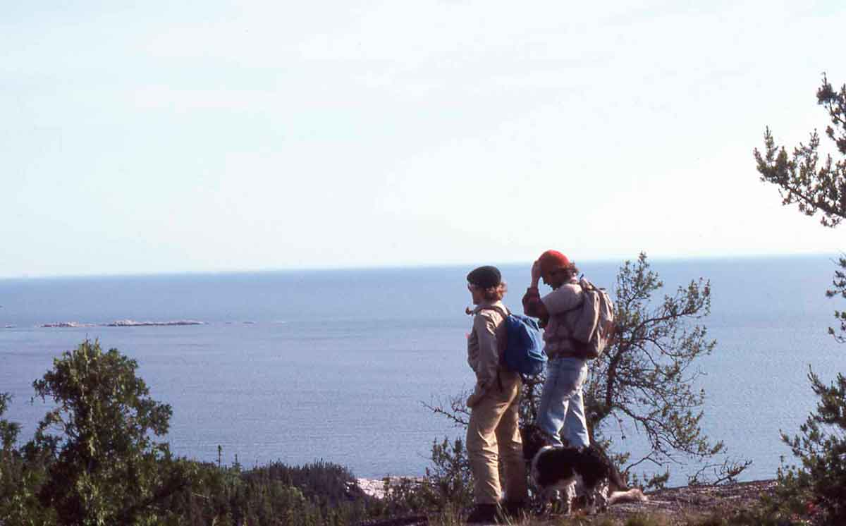 Pukaskwa National Park was formed in 1978, and I had the rare fortune to work for the park in the summer of 1979. My job was to locate and flag a significant portion of what is now known as the Coastal Hiking Trail – 37 miles (60 kilometers).