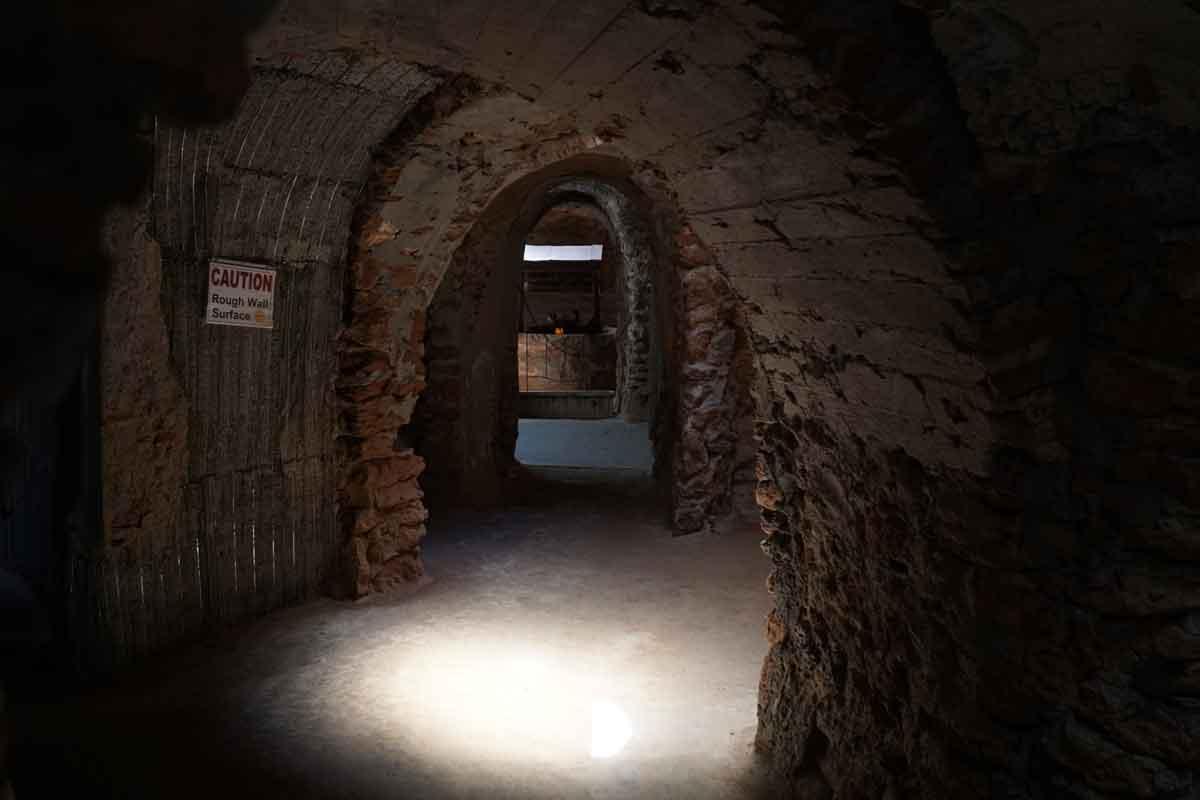 Underground Gardens Cavern Corridors