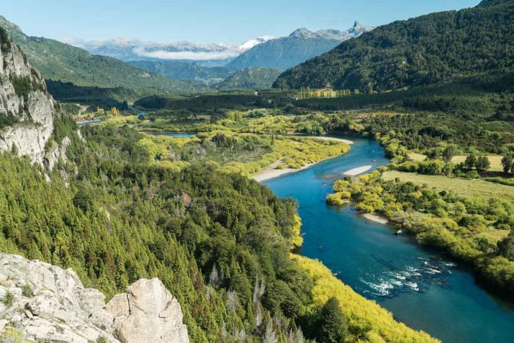 The Fataleufu River is one of the many endangered places in Chile.