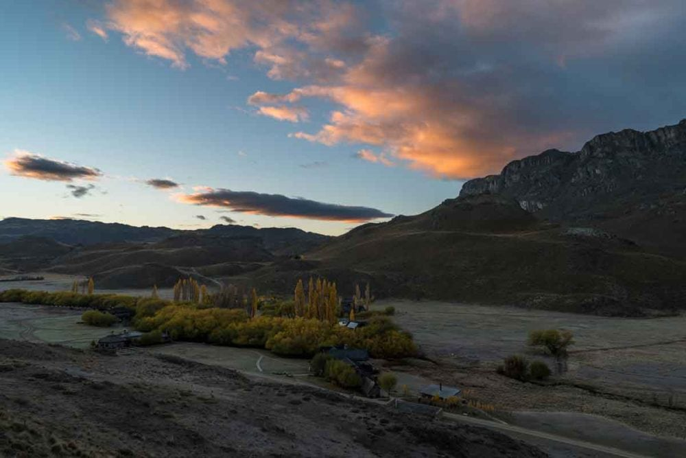 Sunrise in Patagonia National Park -- no longer endangered