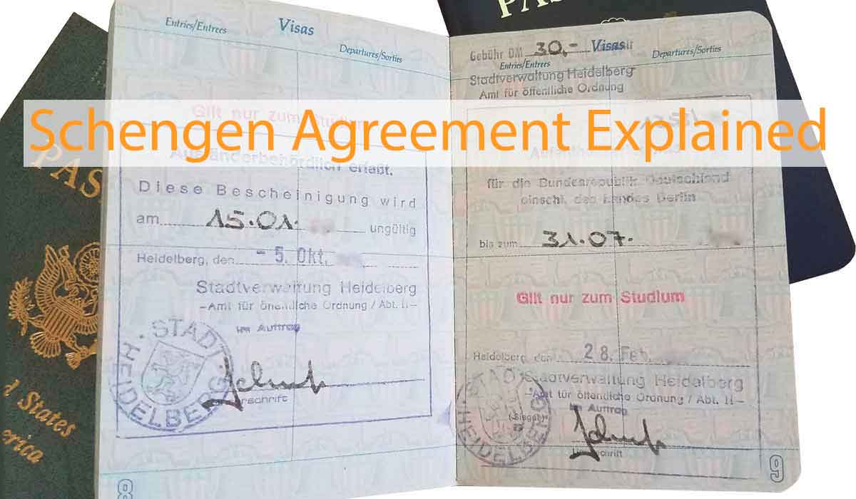 The Schengen Agreement Explained Do You Need A Visa For Europe