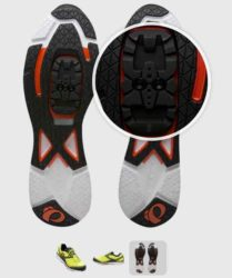 City cycling shoes have cleats that are recessed which are much better to pack for bike tours.