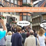 A German language cheat sheet for travelers