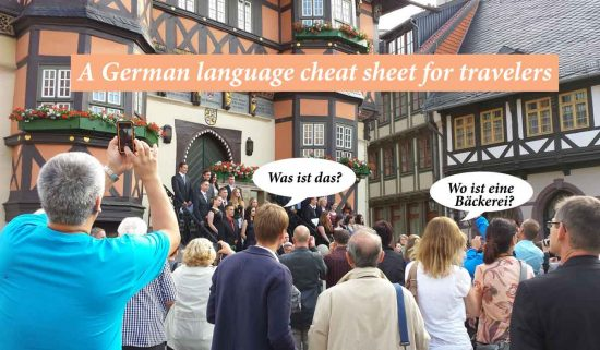 A Germany Language Cheat Sheet cover image