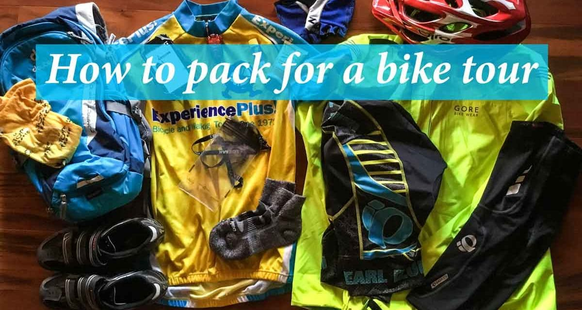 How to pack for a bike tour