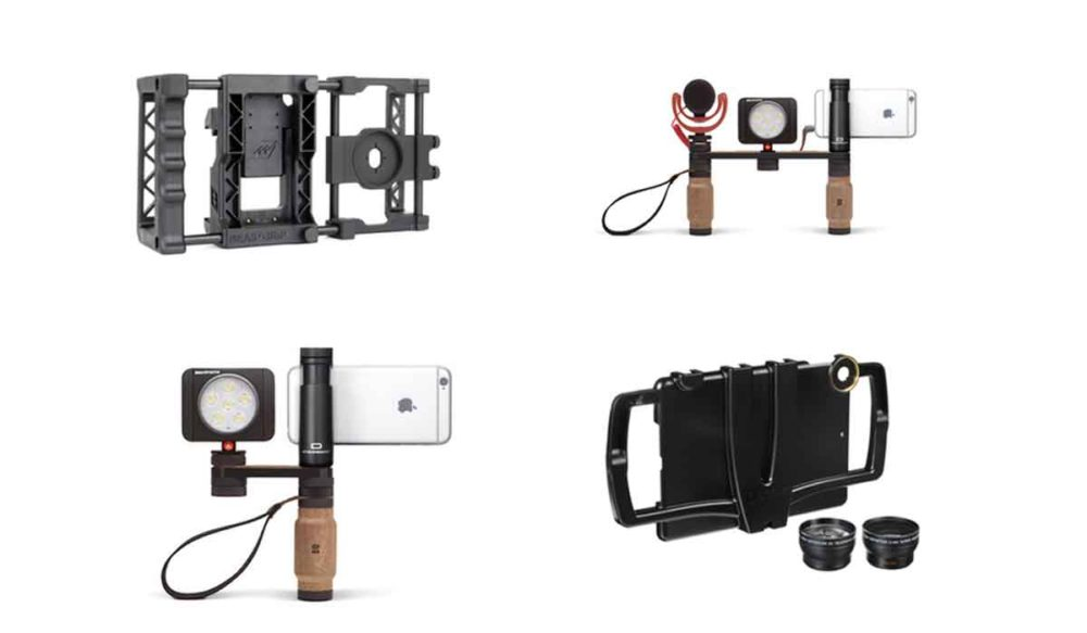 Various rigs for a smartphone