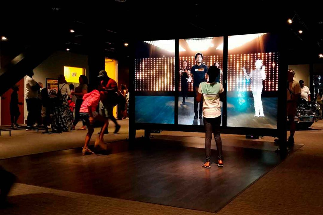 Interactive gallery in the African American Museum.