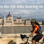 A day in the life bike touring in Europe