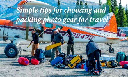 Simple tips for choosing and packing photo gear for travel