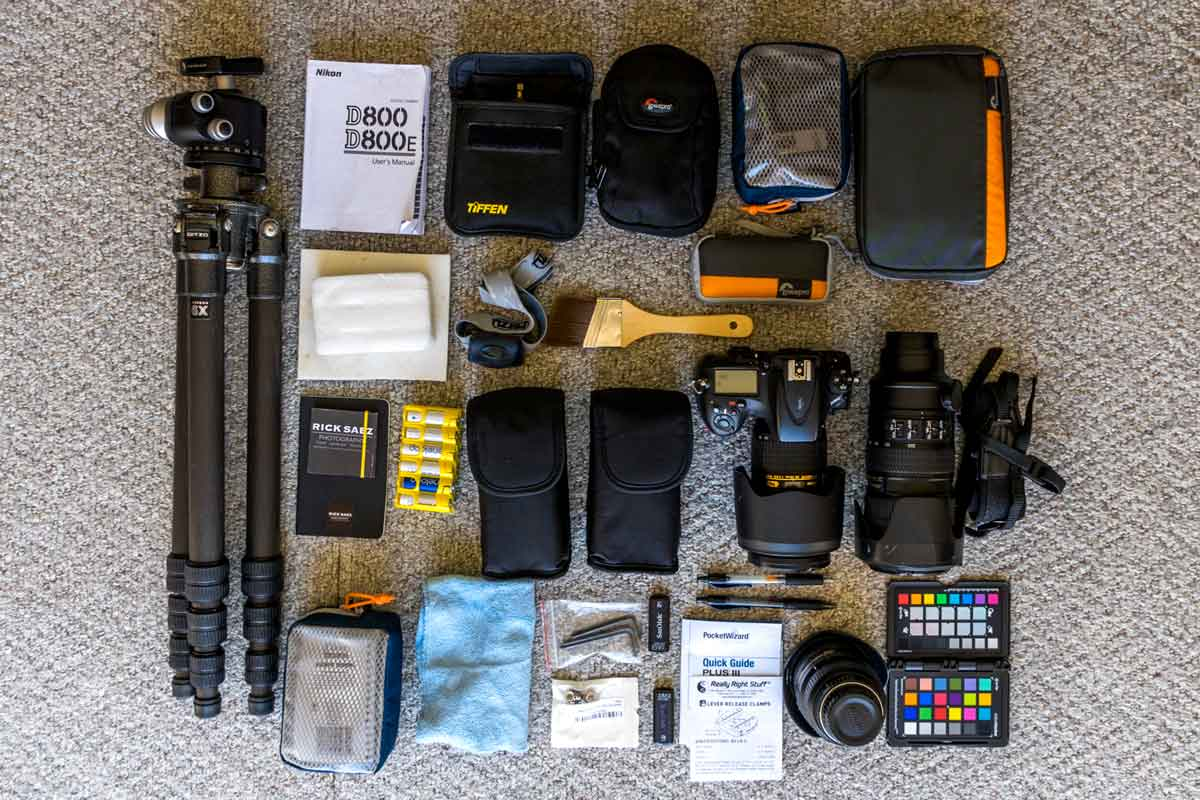 Packing your photo gear for travel starts with choosing your gear.