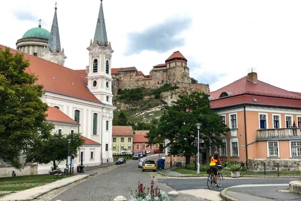 Pedaling into Bratislava