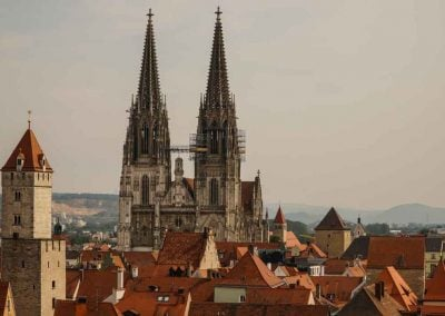 Rooftops Of Regensburg