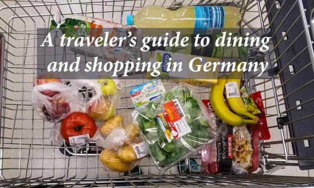 A traveler's guide to dining and shopping in Germany