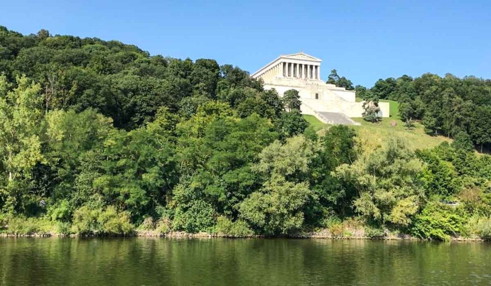 View of Walhalla from the Danube.