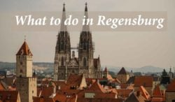 What to do in Regensburg