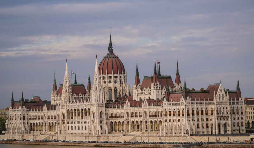 Budapest Parliment Building.