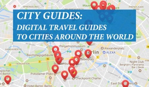 City guides around the world cover image