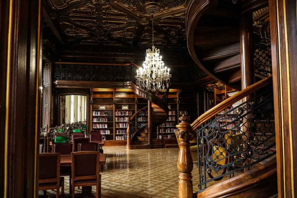 Ervin Szabo Central Library Budapest