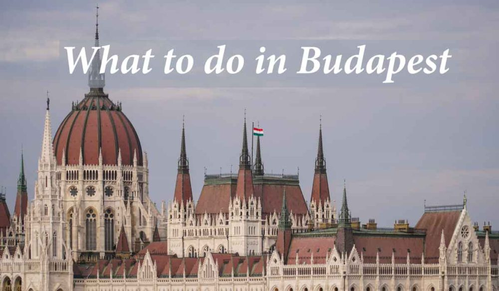 What to do in Budapest cover image.