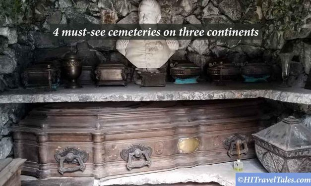 Visit 4 must-see cemeteries on three continents
