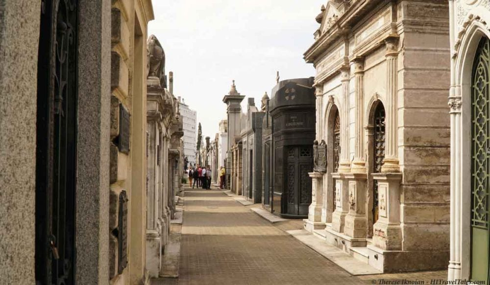 Recoleta Cemetery is a must see