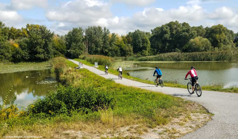 Bike tour training helps with any multi-day tour